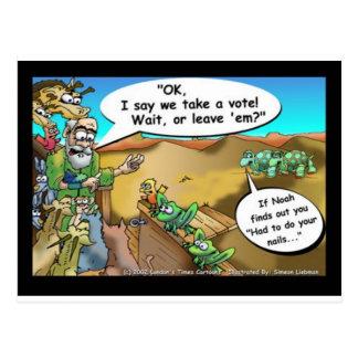"""Noahs Arche-"" lustige Postkarten"