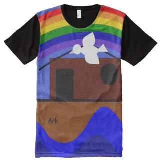 Noahs Arche T-Shirt Mit Bedruckbarer Vorderseite