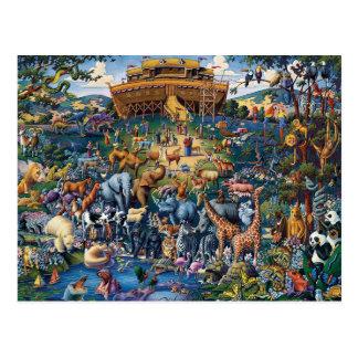 Noahs Tierarche-Kunst Postkarten