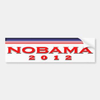 Nobama 2012 autoaufkleber