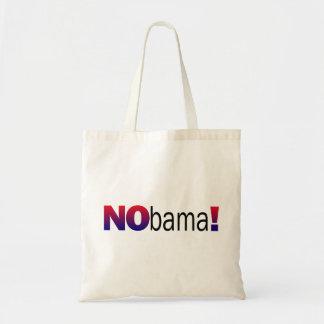 Nobama Anti-Obama Budget Stoffbeutel
