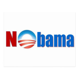 Nobama - kein Obama Postkarte