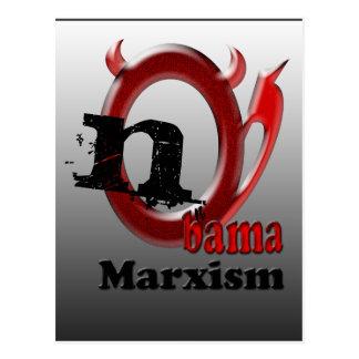 Nobama Marxismus Postkarte