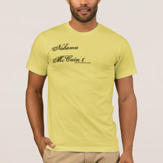 Nobama | McCain't: Konstitution - besonders T-Shirt