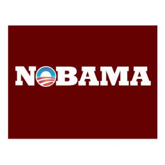 NOBAMA Obama 2012 Postkarte