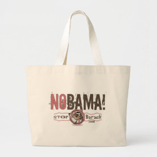 Nobama! Stoppen Sie Barack Tasche