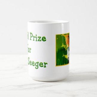 Nobelpreis für Pete Seeger-Schale Kaffeetasse