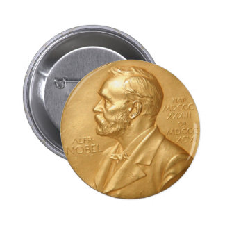 Nobelpreis-Knopf Buttons