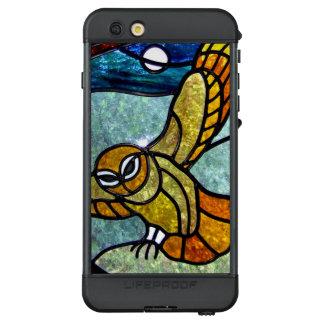 Noble Buntglas-Eule LifeProof NÜÜD iPhone 6s Plus Hülle