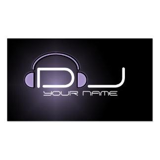 Noble DJ-Visitenkarte