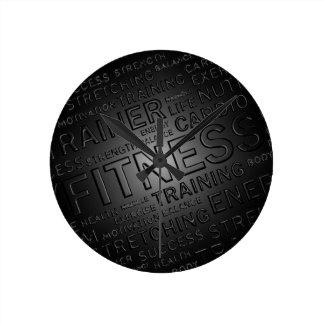 Noble Fitness-Wand-Uhr Wanduhr