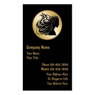 Noble Frisurn-Visitenkarten Visitenkarten