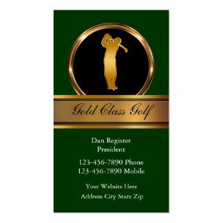 Noble Golf-Visitenkarten Visitenkarten