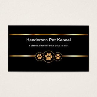 Noble Haustier-Hundehütte Visitenkarte