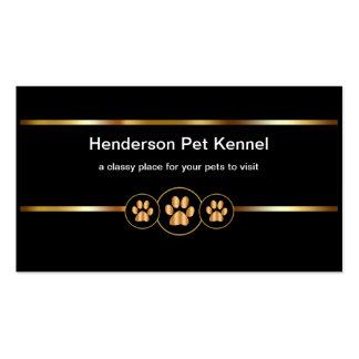 Noble Haustier-Hundehütte Visitenkarten
