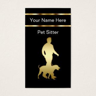 Noble Haustier-Modell-Visitenkarten Visitenkarte