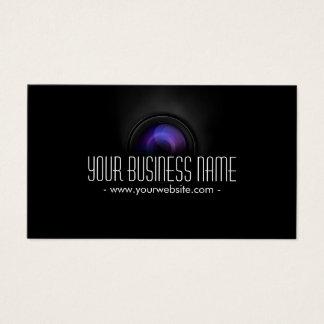 Noble Kameraobjektiv-Fotograf-Visitenkarte Visitenkarte