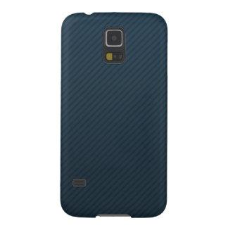 Noble Marine-blaue Streifen - kundenspezifischer Samsung Galaxy S5 Cover