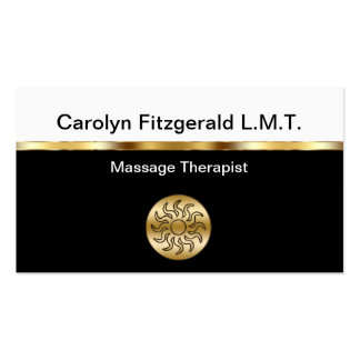 Noble Massage-Therapeut-Visitenkarten Visitenkarten