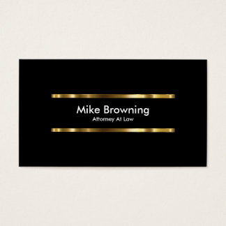 Noble Rechtsanwalts-Visitenkarten Visitenkarten