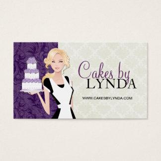 Noble und elegante Bäckerei-Visitenkarten Visitenkarten
