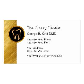Noble Zahnarzt-Visitenkarten Visitenkarten