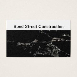 Nobler Bau-Entwurf Visitenkarte