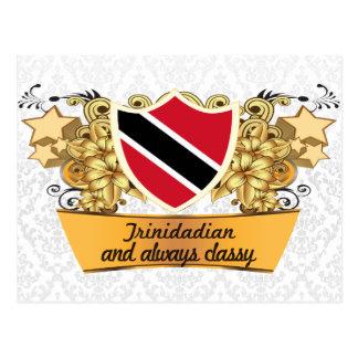 Nobler Bewohner von Trinidad Postkarte