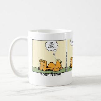 """Nobler fauler"" Garfield-Comic-Streifen Tasse"