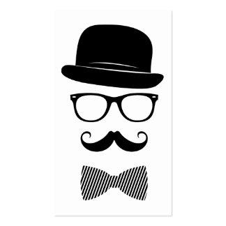 Nobler Hipster Visitenkarten