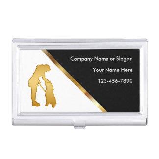 Nobler Hundetrainings-Visitenkarte-Kasten Visitenkarten Dose