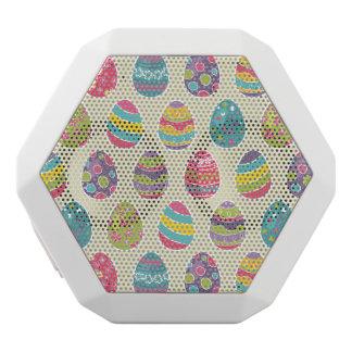 Nobler Retro Osterei-glücklicher Ostern-Tag Weiße Bluetooth Lautsprecher
