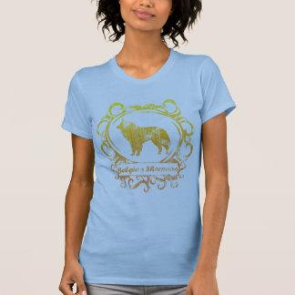 Nobler verwitterter belgischer Schäferhund T Shirts