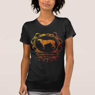 Nobler verwitterter Scottish Deerhound T-Shirt