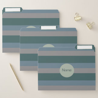 Nobles aquamarines, Schiefer und graues Papiermappe