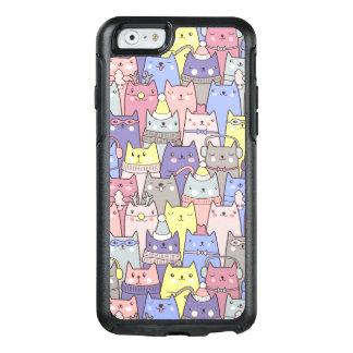 Nobles cooles Weihnachtslustiger Katzen iPhone OtterBox iPhone 6/6s Hülle