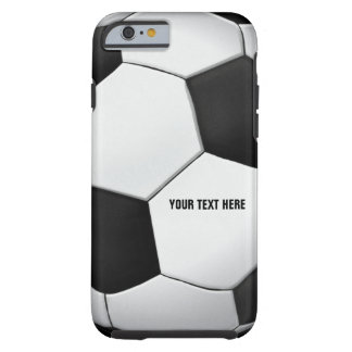 Nobles Fußball-Sport-Geschenk des Fußball-| Tough iPhone 6 Hülle