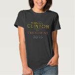 Nobles stilvolles Hillary Clinton-Präsidenten-2016 Hemd