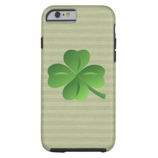 Nobles Trendy irisches glückliches Kleeblatt Tough iPhone 6 Hülle
