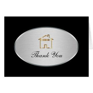 Nobles wirkliches Anwesen danken Ihnen Karten