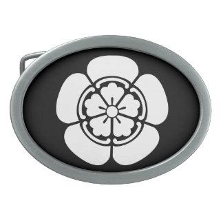Nobunaga Oda Ovale Gürtelschnallen