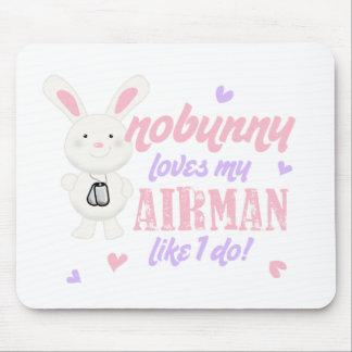 Nobunny Lieben mein Flieger Mousepads