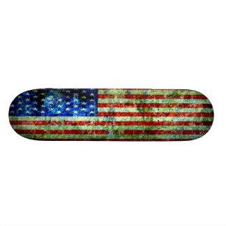 Noch die Flagge Individuelles Skateboard