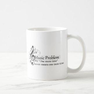 """""""Noch einmal"""" bedeutet nie eine weitere Zeit Kaffeetasse"""