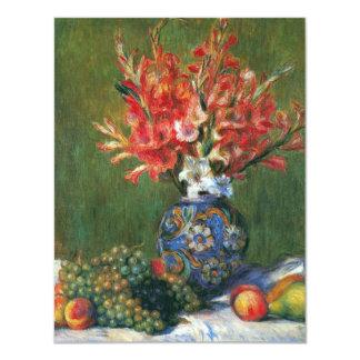 Noch Leben-Blumen und Frucht durch Pierre Renoir Karte