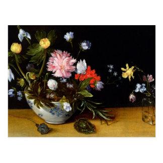 Noch Leben der Blumen Postkarte