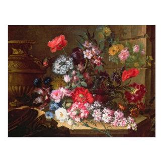 Noch Leben mit Blumen Postkarten