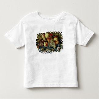 Noch Leben mit Frucht, Blumen und Meeresfrüchten T Shirt