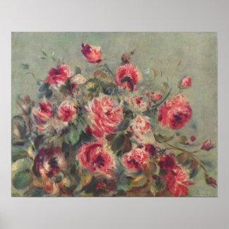 Noch Leben, Rosen von Vargemont | Renoir Poster