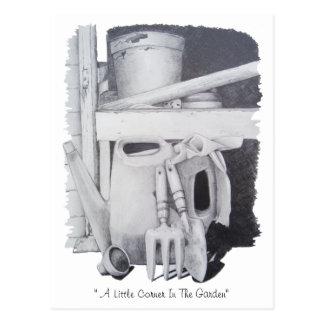 Noch Lebengartenrealistkunst, die Postkarte